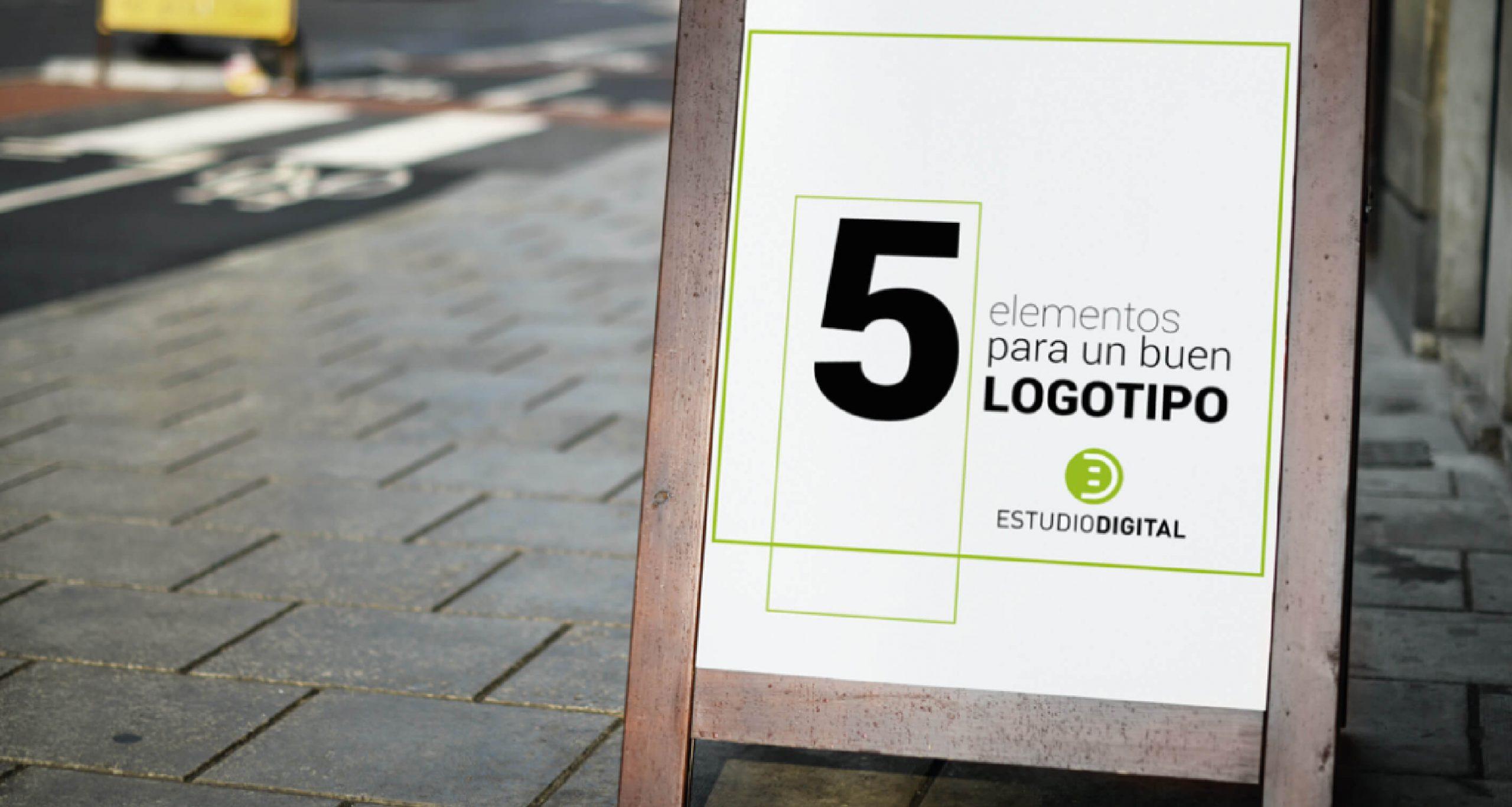 Los 5 elementos para un buen logotipo